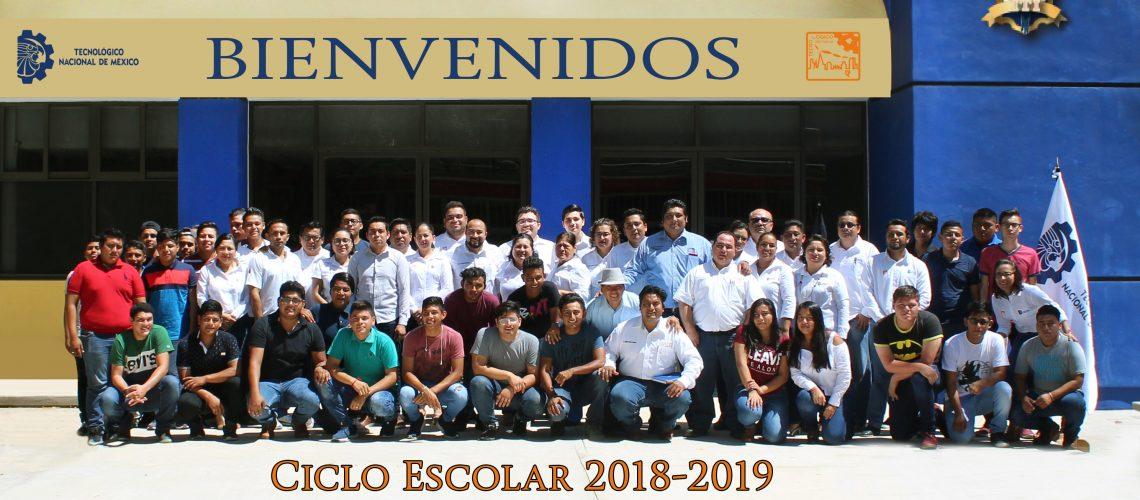 Bienvenida para banner 2018-2019